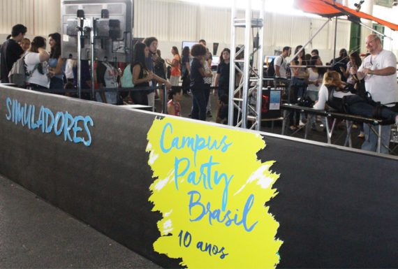 Campus Party: a Revista D+ esteve no evento e conta como foi!