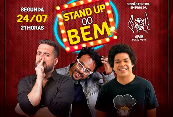 Apae SP realiza Stand Up do Bem